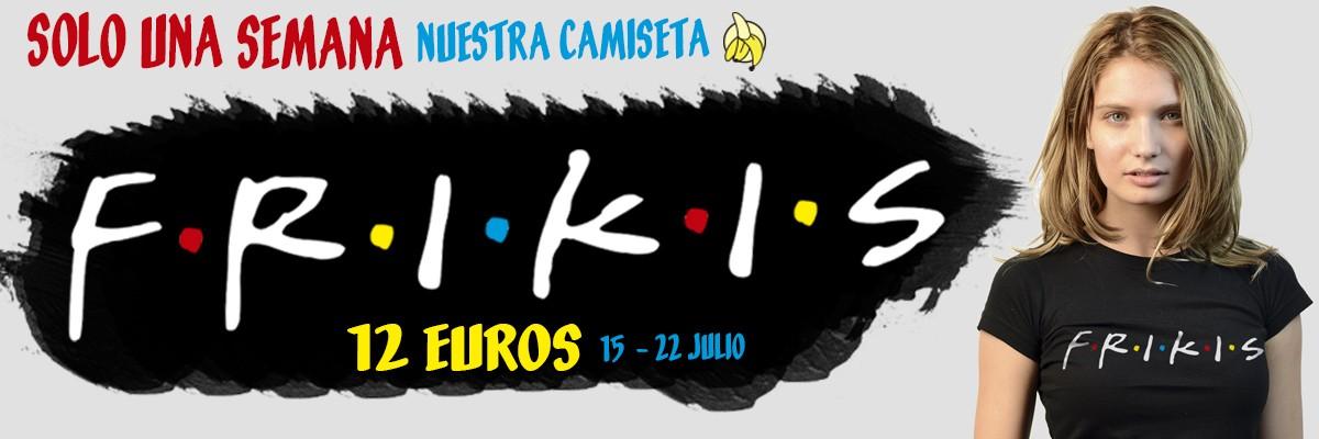 OFERTA DE LA SEMANA CAMISETA FRIKIS Rey Mono Camisetas